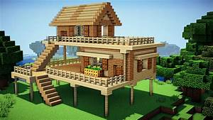 Minecraft: Starter House Tutorial - How to Build a House ...