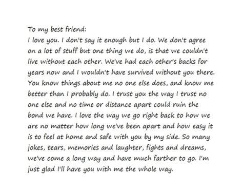 letter to my best friend 2 dear best friend letter search quote me