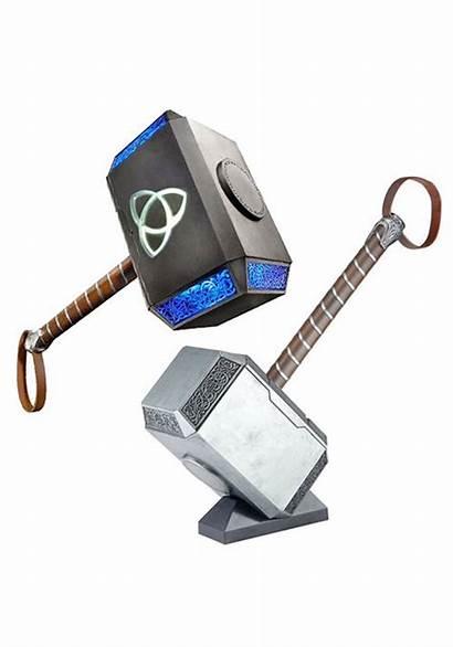 Thor Hammer Mjolnir Marvel Legends Prop Electronic
