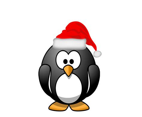clipartist net 187 clip art 187 penguin santa hat xmas