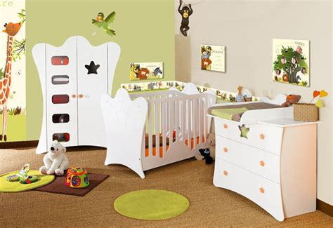 déco jungle chambre bébé décoration chambre bébé safari