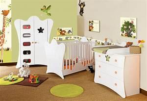 un large choix de deco chambre bebe avec themes jungle With déco chambre bébé pas cher avec lys prix fleur