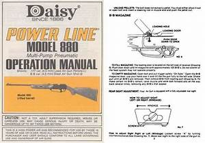 Daisy M880 Power Line Manual