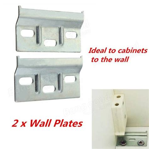 wall brackets for kitchen cabinets 2pcs wall overhead cupboards hanger plate kitchen cabinet 8866