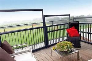 Balkon Windschutz Durchsichtig : h henverstellbare windschutzw nde bis 4 m h he ~ Markanthonyermac.com Haus und Dekorationen