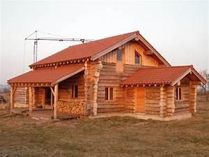 les fustes de coyac gites en rondin de bois With maison rondin de bois prix