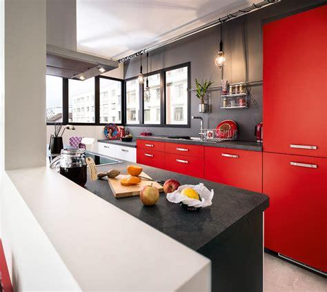 cuisines rouges cuisine 10 bonnes raisons de craquer