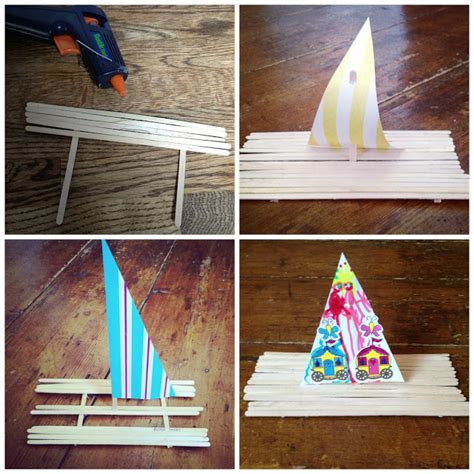How To Make A Boat Ks1 by How To Make A Lolly Stick Boat Ted S