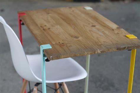 mobilier bureau modulaire idée déco de pieds de table