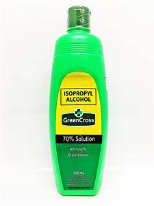 Green Cross Rubbing Alcohol 70% 500ml from Buy Asian Food 4U