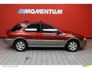 Sport 2000 Gray : 2000 sedona red pearl subaru impreza outback sport wagon 42188290 photo 4 car ~ Gottalentnigeria.com Avis de Voitures