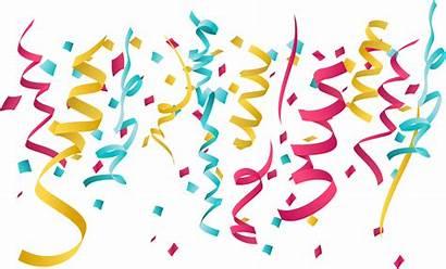 Birthday Transparent Ribbon Ribbons Celebration Clip Clipart
