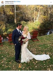 meghan mccain and ben domenech39s wedding new jersey bride With meghan mccain wedding dress