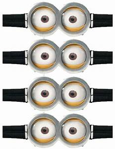minion gogglescl coloring pages With minion eyes template
