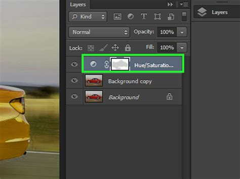 how to change the color of a car in photoshop with pictures