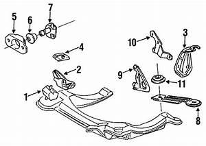 1989 Volkswagen Fox Buffer  Bumper  End  Insulator  Stop