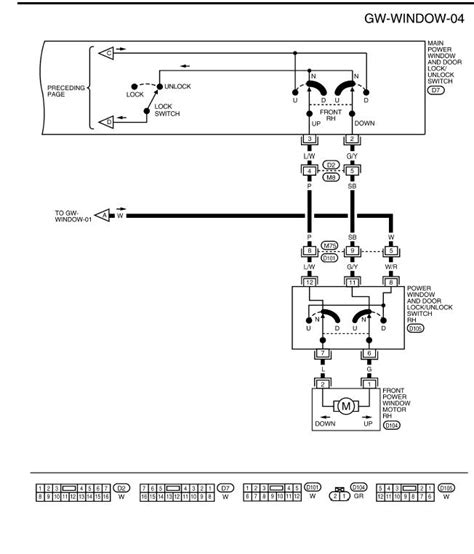 Need The Wiring Diagram For Window Switch