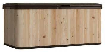suncast wrdb12000 deck boxes wood and resin deck box ebay