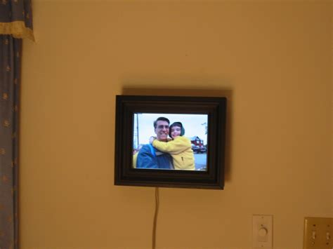 Digital Picture Frame Wall Hanging