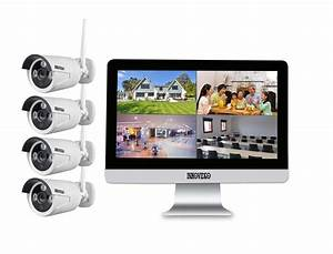 Bildschirm Zoll Berechnen : wlan komplettset 4 kanal netzwerkrekorder mit 25 4 cm 10 zoll lcd bildschirm und 4 x hd ~ Themetempest.com Abrechnung