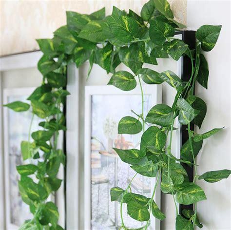 Garden Decoration Artificial Plants by 2019 Artificial Decorative Vine Silk Plants Leaves
