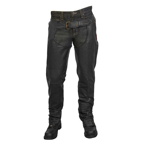 chaps blouses unisex leather chaps by milwaukee motorcycle clothing