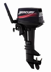 Motor De Popa Mercury 8 0hp 2 Tempos