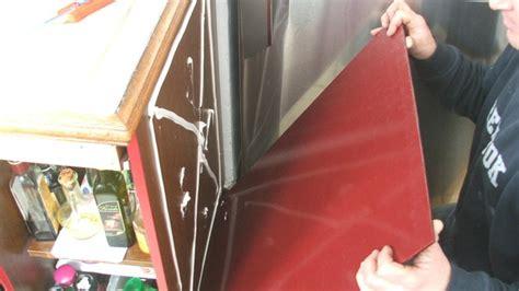 recouvrir meuble de cuisine rhabiller sa cuisine en plaques de verre