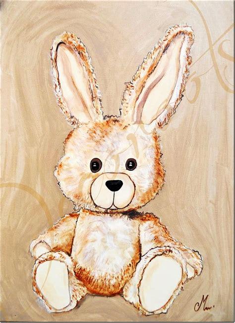 cadre chambre fille tableau esthéban le lapin personnalisable enfant bébé