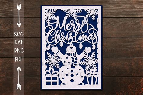 3D Christmas Card Svg Free  – 446+ Crafter Files
