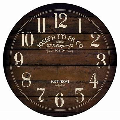Brown Chestnut Clock Wishlist