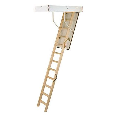 escalier escamotable sogem isowood 3 x 4 marches brico