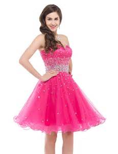 cheap bridesmaid dresses 50 grace karin stock fuchsia pink organza cheap bridesmaid dresses 50 formal prom