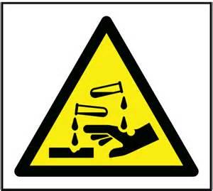 Acid Warning Symbol
