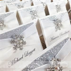 wedding guest book picture frame snowflake wedding stationery from the cinderella collection