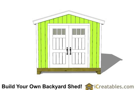 10x10 delux shed plans gable shed storage shed plans