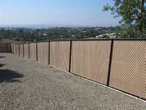 Vinyl Chain Link Fence Privacy Slats