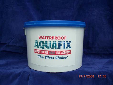 aquafix waterproof tile adhesive 15kg