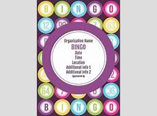bingo flyer template Google Search Bingo Flyers
