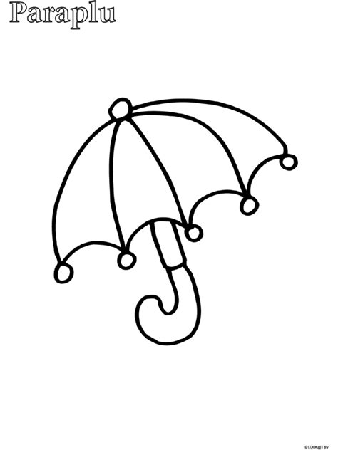 Parasol Kleurplaat by Kleurplaat Paraplu Zoeken Mn School