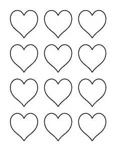 2 Inch Heart Pattern