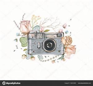 Appareil Photo Vintage : appareil photo vintage photo r tro fleurs feuilles ~ Farleysfitness.com Idées de Décoration