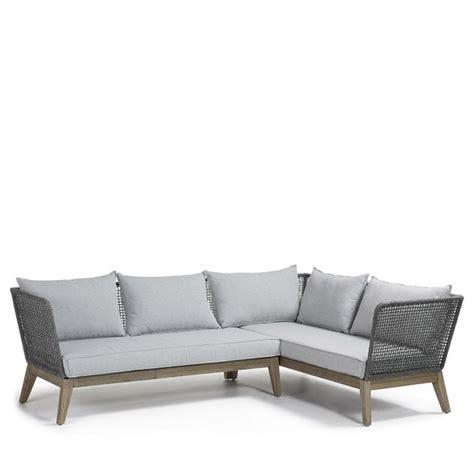 canapé d angle bois et chiffon canapé d 39 angle bois et corde indoor outdoor tucson by drawer