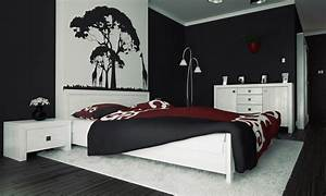 3 Black And White Bedroom Ideas