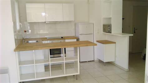 table etagere cuisine séparation de cuisine avec kallax bidouilles ikea