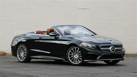 The top gear car review: 2017 Mercedes-Benz S550 Cabriolet Review: All the luxury you need