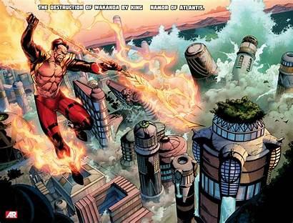 Namor Comics Mariner Sub Panther Marvel Phoenix