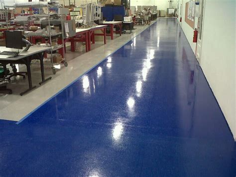 Large Commercial Epoxy Floor Coatings System   Garage