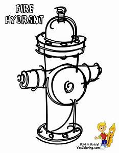 Fire Hydrant Coloring Page Coloring Home