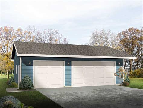 Simple Three Car Garage   2218SL   Architectural Designs